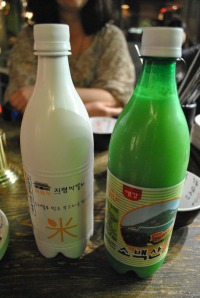 Makgeolli Salong Bottles