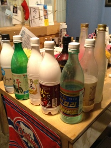 Makgeolli School bottles